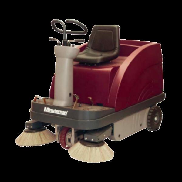 Minuteman Kleen Sweep Ride-On Floor Sweeper