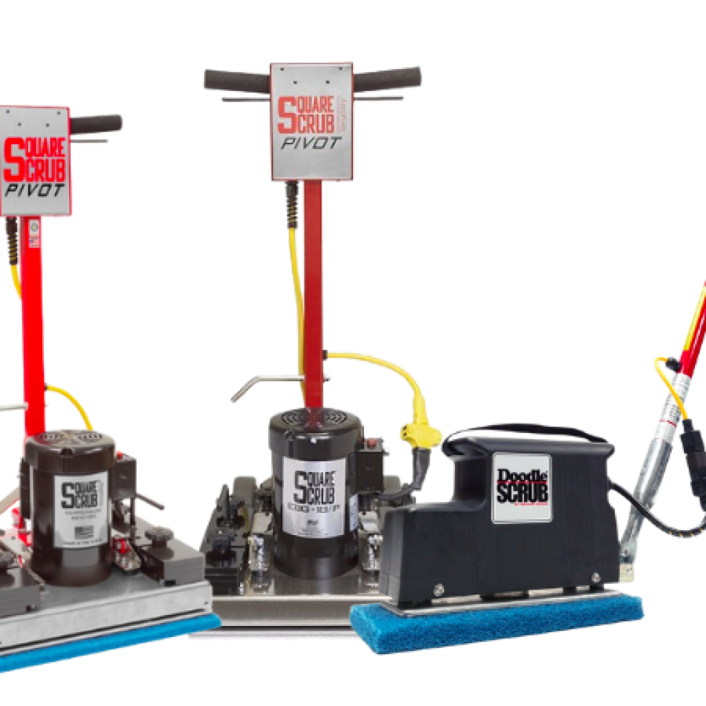 Square Scrub Surface Prep Machines